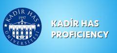 Kadir Has Üniversitesi Proficiency